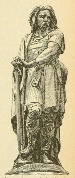 Statue de Vercingétorix. Source : http://data.abuledu.org/URI/524db1d3-statue-de-vercingetorix
