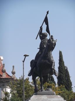 Statue du Cid à Séville. Source : http://data.abuledu.org/URI/53898d8a-statue-du-cid-a-seville