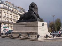Statue du Lion de Belfort. Source : http://data.abuledu.org/URI/53e232dc-statue-du-lion-de-belfort