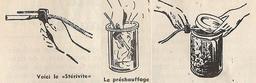 Stérilisation alimentaire en 1950. Source : http://data.abuledu.org/URI/5275833b-sterilisation-alimentaire-en-1950