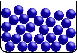 Structure moléculaire d'un liquide. Source : http://data.abuledu.org/URI/50cd9d1e-structure-moleculaire-d-un-liquide