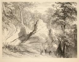 Sur la route de Hualki au Chili en 1838. Source : http://data.abuledu.org/URI/59806a11-sur-la-route-de-hualki-au-chili-en-1838