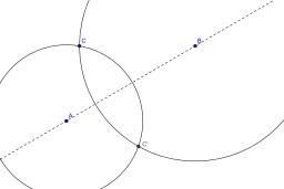 Symétrique d'un point par rapport à une droite. Source : http://data.abuledu.org/URI/50c4f82c-symetrique-d-un-point-par-rapport-a-une-droite