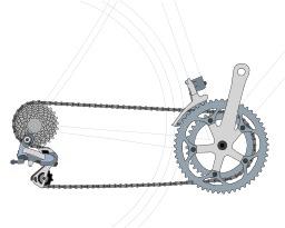 Système de transmission de l'énergie à bicyclette. Source : http://data.abuledu.org/URI/5174fd1a-systeme-de-transmission-de-l-energie-a-bicyclette