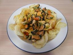 Tapas de moules et frites. Source : http://data.abuledu.org/URI/54e8d801-tapas-de-moules-et-frites