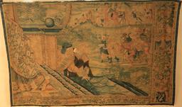 Tapisserie au Clos Lucé. Source : http://data.abuledu.org/URI/55cbe285-tapisserie-au-clos-luce