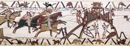 Tapisserie de Bayeux - 19. Source : http://data.abuledu.org/URI/521f6ac7-tapisserie-de-bayeux-19