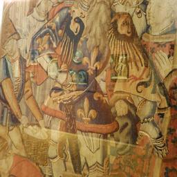 Tapisserie de Charlemagne au musée des beaux-arts de Dijon. Source : http://data.abuledu.org/URI/59d69fc3-tapisserie-de-charlemagne-au-musee-des-beaux-arts-de-dijon
