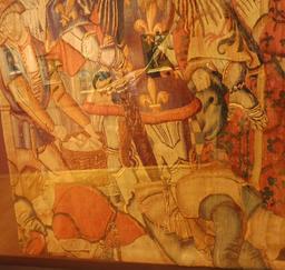 Tapisserie de Charlemagne au musée des beaux-arts de Dijon. Source : http://data.abuledu.org/URI/59d6a016-tapisserie-de-charlemagne-au-musee-des-beaux-arts-de-dijon