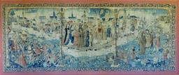 Tapisserie de Dijon en 1513. Source : http://data.abuledu.org/URI/59d6992b-tapisserie-de-dijon-en-1513