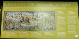 Tapisserie de Dijon en 1513. Source : http://data.abuledu.org/URI/59d69943-tapisserie-de-dijon-en-1513