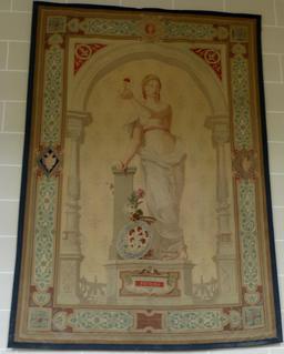 Tapisserie de la Manufacture de porcelaine de Sèvres. Source : http://data.abuledu.org/URI/585d4e41-tapisserie-de-la-manufacture-de-porcelaine-de-sevres
