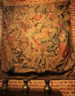 Tapisserie de Roland et Olivier. Source : http://data.abuledu.org/URI/55cce405-tapisserie-de-roland-et-olivier