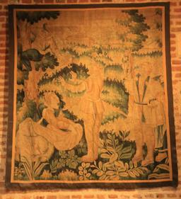 Tapisserie du Clos Lucé. Source : http://data.abuledu.org/URI/55cce4b4-tapisserie-du-clos-luce