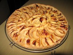 Tarte aux pommes. Source : http://data.abuledu.org/URI/501ea825-tarte-aux-pommes