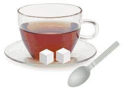 Tasse de thé en verre. Source : http://data.abuledu.org/URI/504bba6c-tasse-de-the-en-verre