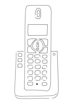 Téléphone sans fil. Source : http://data.abuledu.org/URI/5027c3f0-telephone-sans-fil