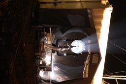 Télescope de l'observatoire atmosphérique du Cap-Vert. Source : http://data.abuledu.org/URI/595291ef-telescope-de-l-observatoire-atmospherique-du-cap-vert