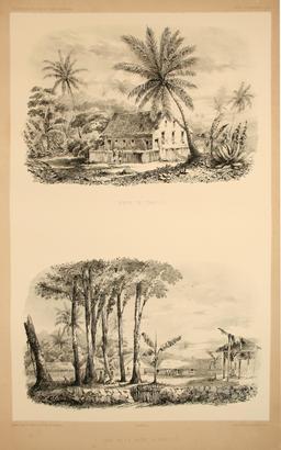 Temple à Papeete en 1838. Source : http://data.abuledu.org/URI/598098df-temple-a-papeete-en-1838