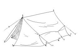 Tente de camping. Source : http://data.abuledu.org/URI/5027c512-tente-de-camping