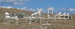 Terrasse des Lions à Délos. Source : http://data.abuledu.org/URI/5251b63b-terrasse-des-lions-a-delos