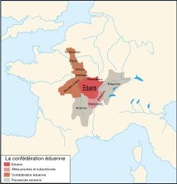 Territoire des Éduens. Source : http://data.abuledu.org/URI/5079ac62-territoire-des-eduens