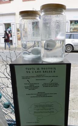 Test d'eau salée à Salies-de-Béarn. Source : http://data.abuledu.org/URI/586626d8-test-d-eau-salee-a-salies-de-bearn