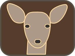Tête de biche. Source : http://data.abuledu.org/URI/5047a4b6-tete-de-biche
