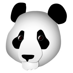 Tête de panda. Source : http://data.abuledu.org/URI/5049c508-tete-de-panda