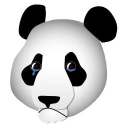 Tête de panda triste. Source : http://data.abuledu.org/URI/5049c560-tete-de-panda-triste