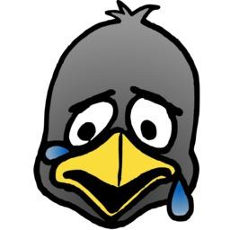Tête de pingouin triste. Source : http://data.abuledu.org/URI/5878098f-tete-de-pingouin-triste