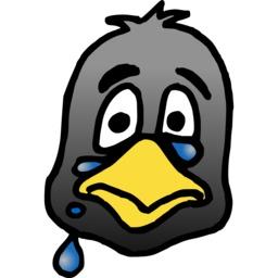 Tête de pingouin triste. Source : http://data.abuledu.org/URI/587809ae-tete-de-pingouin-triste