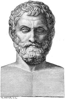 Thalès de Milet. Source : http://data.abuledu.org/URI/505eba08-thales-de-milet