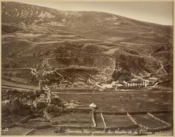 Théâtre et Odéon d'Amman en 1878. Source : http://data.abuledu.org/URI/5946598b-theatre-et-odeon-d-amman-en-1878