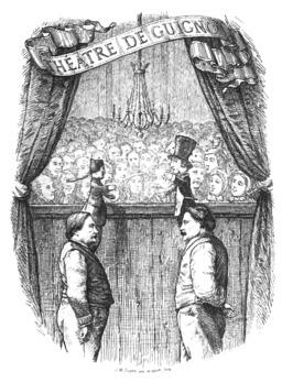 Théatre lyonnais de Guignol. Source : http://data.abuledu.org/URI/591ac96e-theatre-lyonnais-de-guignol