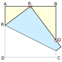 Théorème de Haga et origami. Source : http://data.abuledu.org/URI/52f4afcf-theoreme-de-haga-et-origami