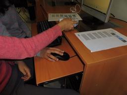 Thymio au collège Calandreta. Source : http://data.abuledu.org/URI/58d78723-thymio-au-college-calandreta