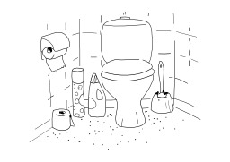 Toilettes. Source : http://data.abuledu.org/URI/5027d0ef-toilettes