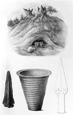 Tombe de l'âge du bronze. Source : http://data.abuledu.org/URI/591bae6a-tombe-de-l-age-du-bronze