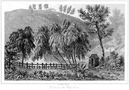 Tombeau de Napoléon à Sainte-Hélène. Source : http://data.abuledu.org/URI/52b6bf7d-tombeau-de-napoleon-a-sainte-helene