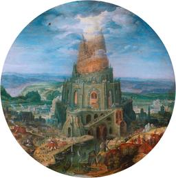 Tour de Babel en 1602. Source : http://data.abuledu.org/URI/573ad68b-tour-de-babel-en-1602