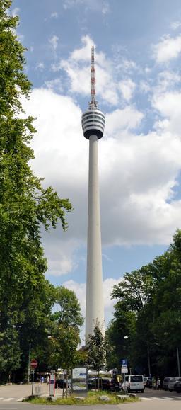 Tour de télévision de Stuttgart. Source : http://data.abuledu.org/URI/58dd7c93-tour-de-television-de-stuttgart