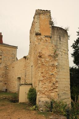 Tour du château de Sainte-Maure-de-Touraine. Source : http://data.abuledu.org/URI/55dd975a-tour-du-chateau-de-sainte-maure-de-touraine