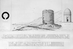 Tour en pierre à Rei en 1840. Source : http://data.abuledu.org/URI/56522ac7-tour-en-pierre-a-rei-en-1840