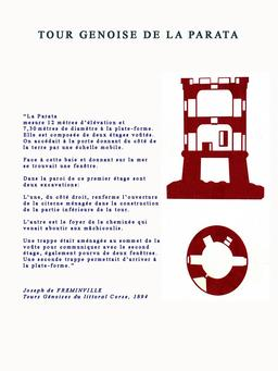 Tour génoise de la Parata, 1550. Source : http://data.abuledu.org/URI/51caa3c2-tour-genoise-de-la-parata-1550