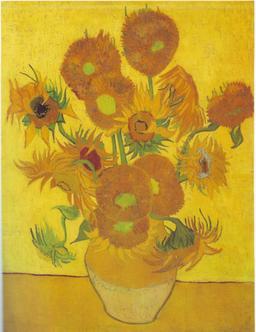 Tournesols de Van Gogh. Source : http://data.abuledu.org/URI/546a44d1-tournesols-de-van-gogh