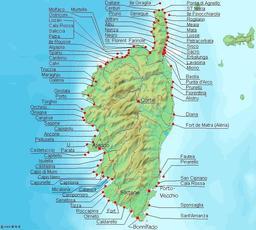 Tours génoises en Corse. Source : http://data.abuledu.org/URI/51ca9aa4-tours-genoises-en-corse