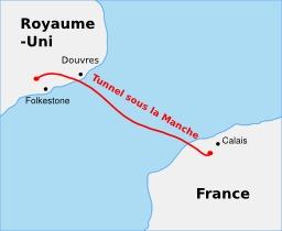 Tracé du tunnel sous la Manche. Source : http://data.abuledu.org/URI/507880ed-trace-du-tunnel-sous-la-manche