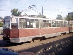 Tramway de Biisk, Russie. Source : http://data.abuledu.org/URI/50d1de01-tramway-de-biisk-russie