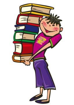 Transport de livres par un écolier. Source : http://data.abuledu.org/URI/58333dfb-transport-de-livres-par-un-ecolier